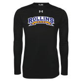 Under Armour Black Long Sleeve Tech Tee-Arched Rollins Tars