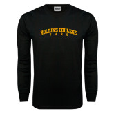 Black Long Sleeve TShirt-Arched Rollins College Tars