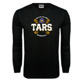 Black Long Sleeve TShirt-Tars Baseball w/ Seams