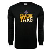 Black Long Sleeve TShirt-Fear The Tars