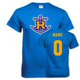 Royal T Shirt-Official Logo, Custom Tee w/ Name and #