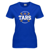 Ladies Royal T Shirt-Tars Baseball w/ Seams