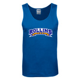 Royal Tank Top-Arched Rollins Tars