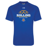 Under Armour Royal Tech Tee-Rollins Soccer Stacked