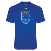 Under Armour Royal Tech Tee-Soccer Shield