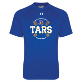 Under Armour Royal Tech Tee-Tars Baseball w/ Seams