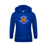 Youth Royal Fleece Hood-Official Logo