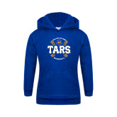 Youth Royal Fleece Hoodie-Tars Baseball w/ Seams