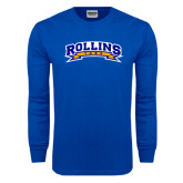 Royal Long Sleeve T Shirt-Arched Rollins Tars