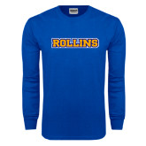 Royal Long Sleeve T Shirt-Rollins