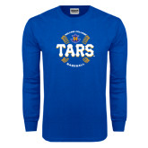 Royal Long Sleeve T Shirt-Tars Baseball w/ Seams