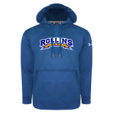 Under Armour Royal Performance Sweats Team Hoodie-Arched Rollins Tars