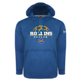 Under Armour Royal Performance Sweats Team Hoodie-Rollins Soccer Stacked