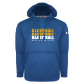 Under Armour Royal Performance Sweats Team Hoodie-Basketball Repeating