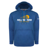 Under Armour Royal Performance Sweats Team Hoodie-Rollins Tars Lacrosse Stacked