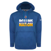 Under Armour Royal Performance Sweats Team Hood-Rollins Nation Stacked