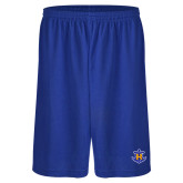 Performance Royal 9 Inch Short w/Pockets-Official Logo
