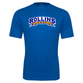Performance Royal Tee-Arched Rollins Tars