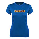 Ladies Syntrel Performance Royal Tee-Rollins