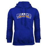 Royal Fleece Hood-Arched Rollins Tars