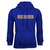 Royal Fleece Hoodie-Rollins