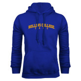 Royal Fleece Hoodie-Arched Rollins College Tars