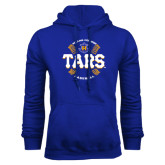 Royal Fleece Hoodie-Tars Baseball w/ Seams