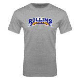Grey T Shirt-Arched Rollins Tars