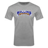 Grey T Shirt-Arched Rollins Tars