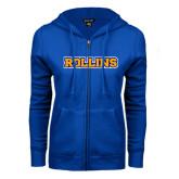 ENZA Ladies Royal Fleece Full Zip Hoodie-Rollins