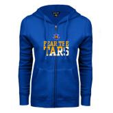 ENZA Ladies Royal Fleece Full Zip Hoodie-Fear The Tars