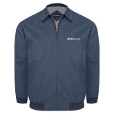 Navy Players Jacket-Rollins Institutional Mark Flat