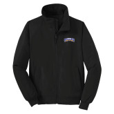 Black Charger Jacket-Arched Rollins Tars