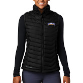 Columbia Mighty LITE Ladies Black Vest-Arched Rollins Tars