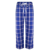 Royal/White Flannel Pajama Pant-Arched Rollins Tars