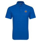 Royal Dry Zone Grid Polo-Official Logo