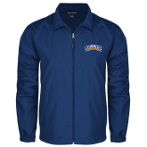 Full Zip Royal Wind Jacket-Arched Rollins Tars