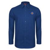 Red House Royal Diamond Dobby Long Sleeve Shirt-Official Logo