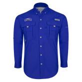 Columbia Bahama II Royal Long Sleeve Shirt-Arched Rollins Tars