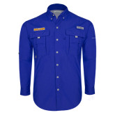 Columbia Bahama II Royal Long Sleeve Shirt-Rollins