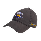 Steel Grey Twill Unstructured Low Profile Hat-Official Logo