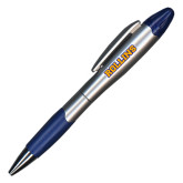 Silver/Blue Blossom Pen/Highlighter-Rollins