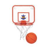 Mini Basketball & Hoop Set-Official Logo