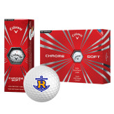 Callaway Chrome Soft Golf Balls 12/pkg-Official Logo