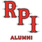 Alumni Decal-RPI, 6 in Tall