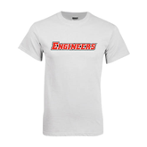 White T Shirt-Engineers