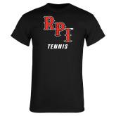 Black T Shirt-Tennis