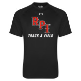 Under Armour Black Tech Tee-Track & Field