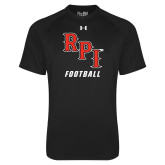 Under Armour Black Tech Tee-Football