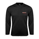 Performance Black Longsleeve Shirt-Rensselaer